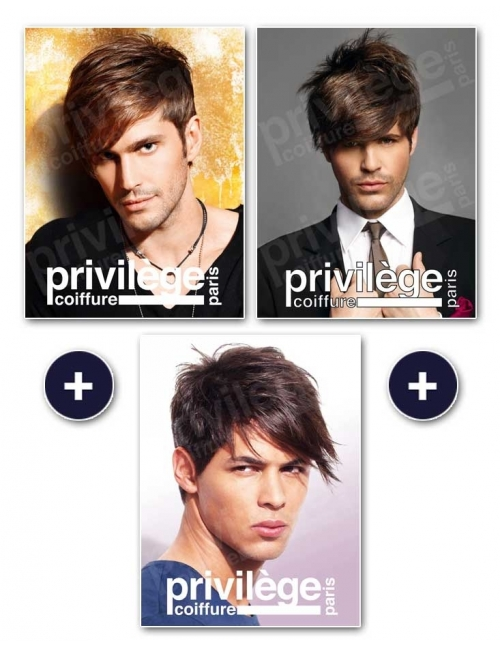 Pack albums homme