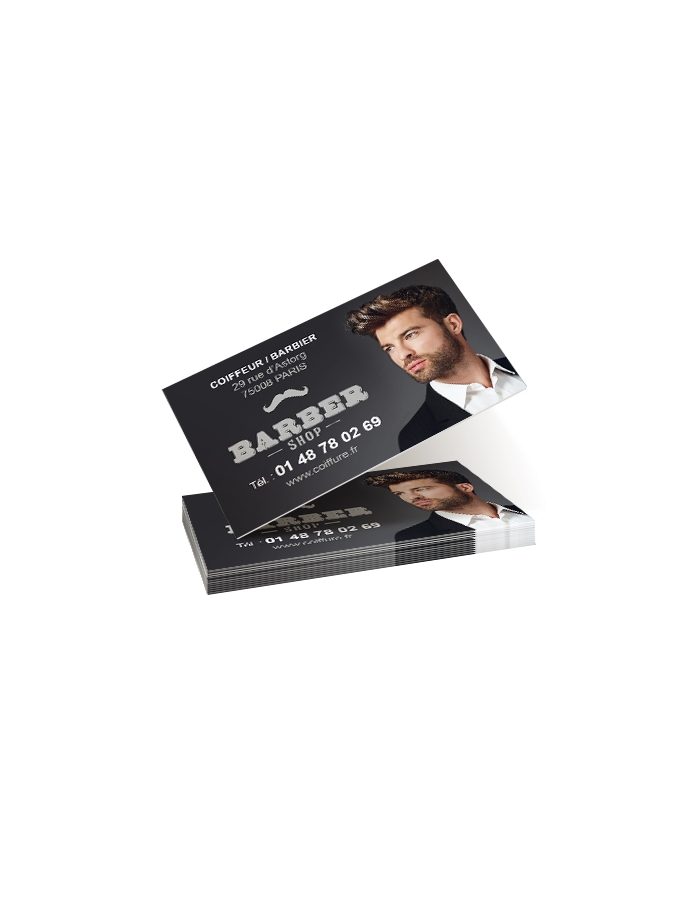 Business card hairdressing CDVAB