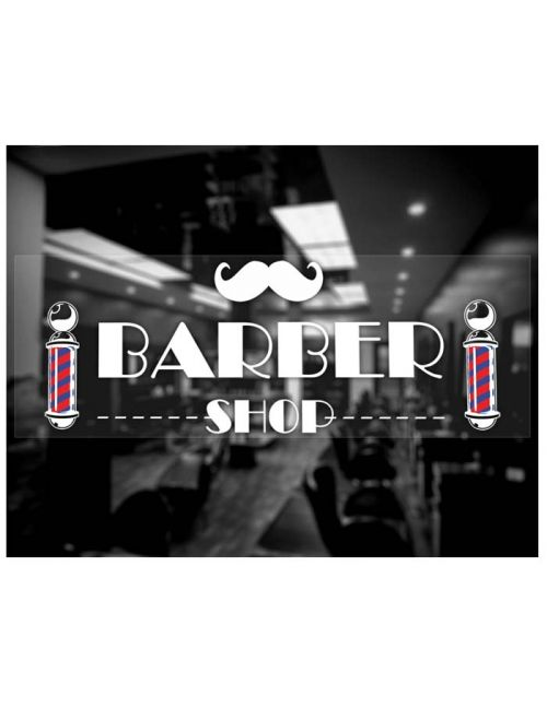 Barber Shop showcase sticker