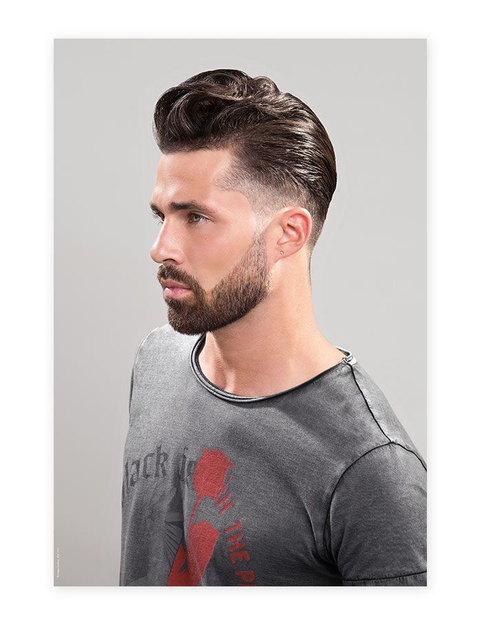 Poster coiffure homme 1004