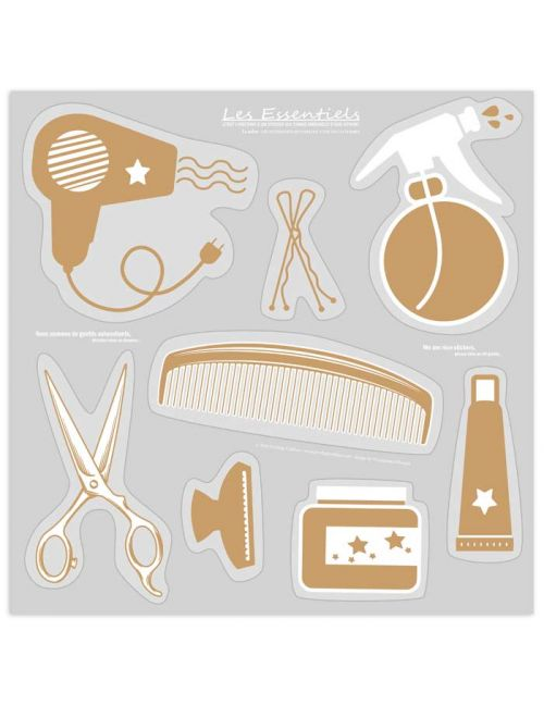 Hairsalon showcase sticker