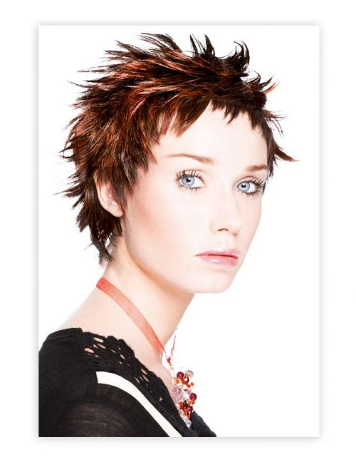 Woman poster Hairstyle 783