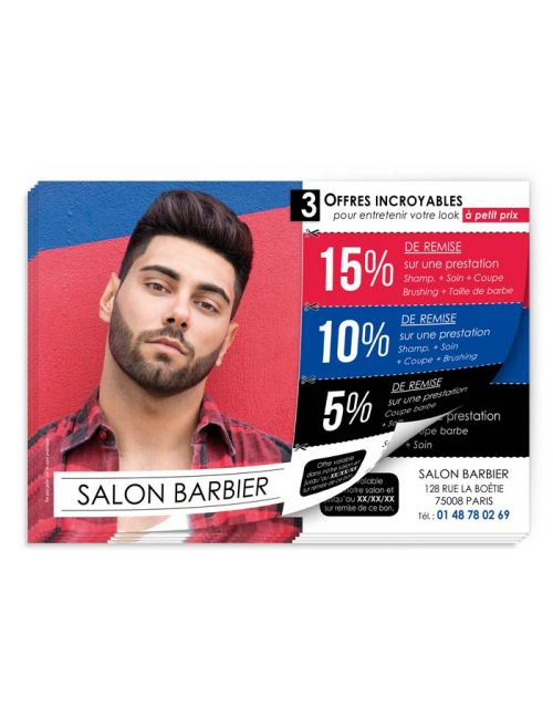 Prospekt Friseur 3 offers barber FL261